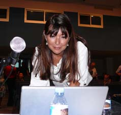 Mylène Eyquem-Lebon, apo fé son kominikassion